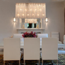 Contemporary Dining Room by Tamara Bickley Design