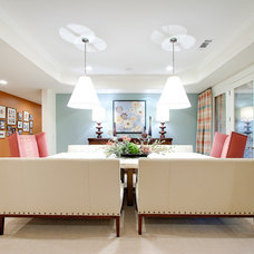 Modern Dining Room by Fowler Interiors