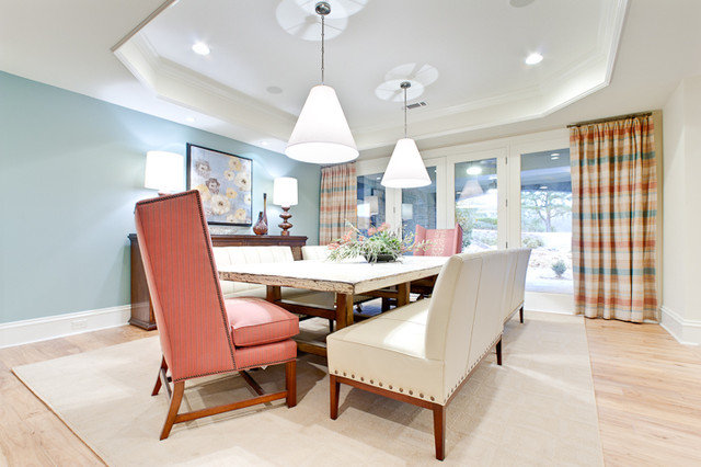 Dining Room by Fowler Interiors