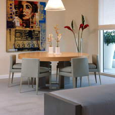 Contemporary Dining Room by LKID
