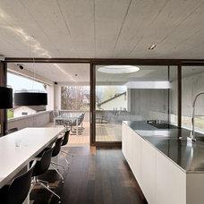 Modern Dining Room by Leicht Westchester Kitchens