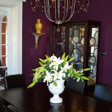 Traditional Dining Room by Ben Dial/ Stedman House Richmond, VA.