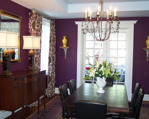 Best purple dining room design ideas remodel pictures for Dining room ideas purple