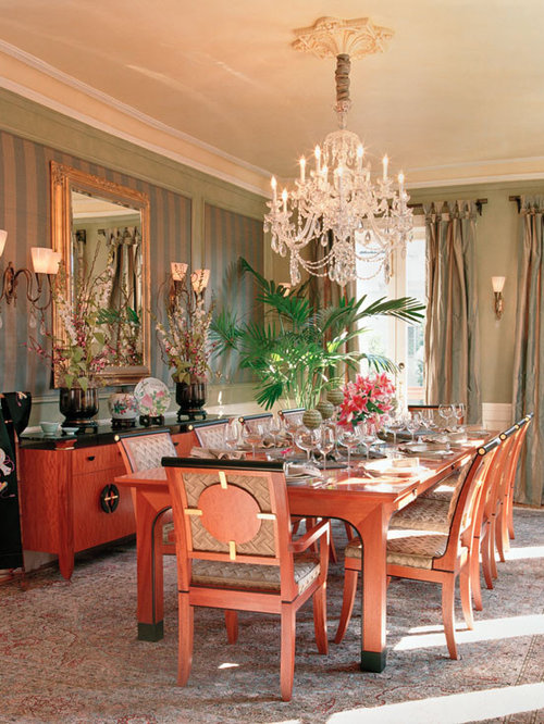 Asian san francisco dining room design ideas remodels for Asian dining room