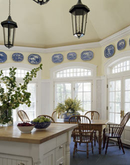 Blue And White Plates Home Design Ideas Pictures Remodel