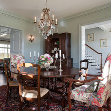 Traditional Dining Room by V Fine Homes