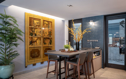 Houzz Tour: A Modern-Oriental Update For This Art-Filled Condo