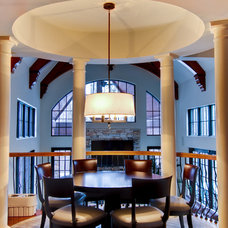 Traditional Dining Room by MB Designs, LLC