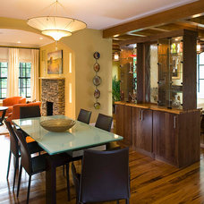 Contemporary Dining Room by Superior Home Services Inc