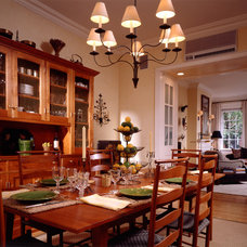 Traditional Dining Room by Gleicher Design - Architecture & Interiors