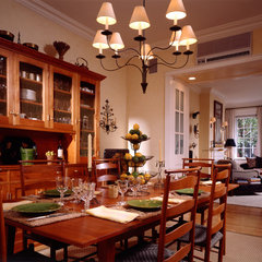 traditional dining room by Gleicher Design Group