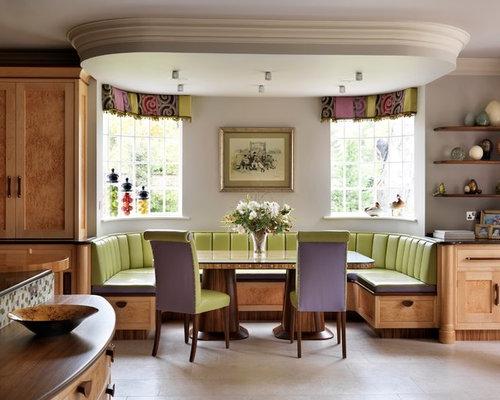Salle à manger banc de cuisine : Photos et idées déco de salles à ...