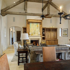 Rustic Dining Room by Design Visions of Austin