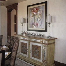 Traditional Dining Room by Splittgerber Professional Builders