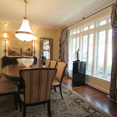 Traditional Dining Room by Texture