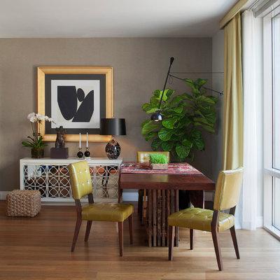 Contemporary Dining Room by Robert Granoff