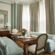 Traditional Dining Room Back Bay Brownstone