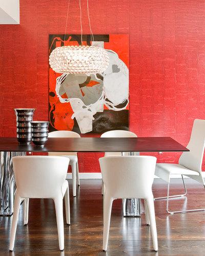 Modern Esszimmer by Eric Roseff Designs