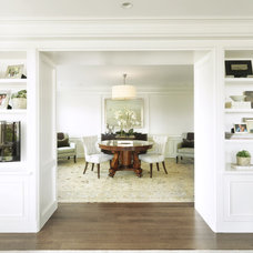 Traditional Dining Room by SLC Interiors