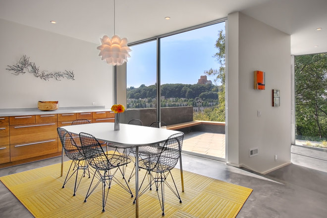 Contemporary Dining Room by SHED Architecture & Design