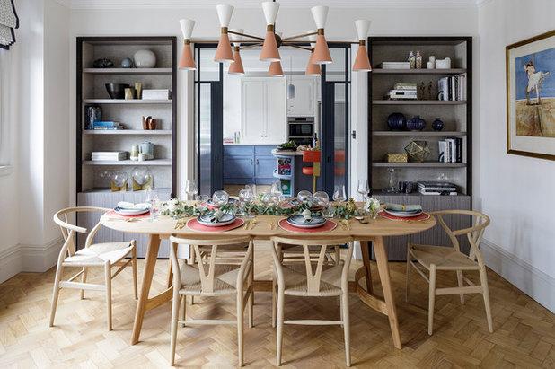 Contemporary Dining Room by Gunter & Co Interiors Ltd