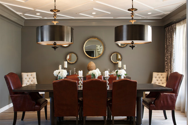 Contemporary Dining Room by Artistic Designs for Living, Tineke Triggs