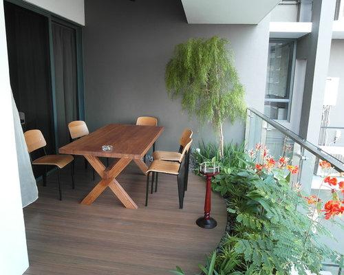Tropical Landscape Dining Room Design Ideas Renovations
