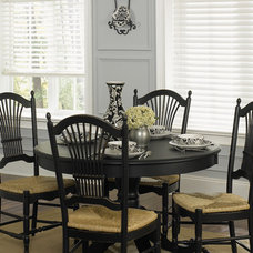 Traditional Dining Room by Bali Blinds