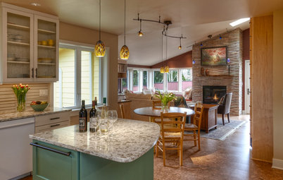 Houzz Tour:  Happiness Reigns in a Seattle Home