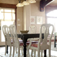 Contemporary Dining Room by Caitlin Wilson