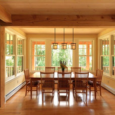 Traditional Dining Room by Cushman Design Group