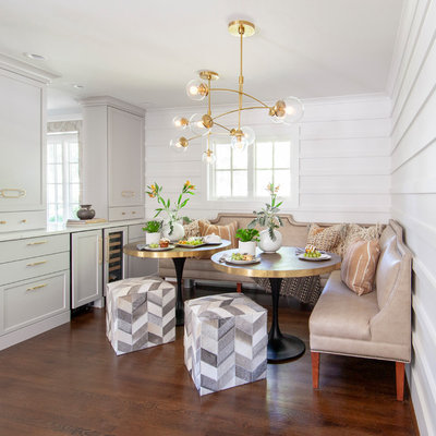 Fusion Dining Room by Lucy and Company
