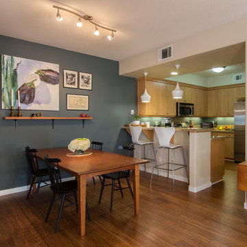 Bamboo Flooring & Carpeted Stairs - San Jose, CA