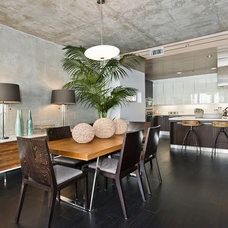 Contemporary Dining Room by Plyboo