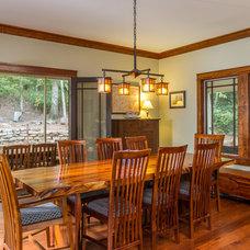 Craftsman Dining Room by Parker Studios