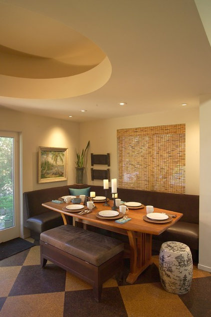 Contemporary Dining Room by Jane Ellison