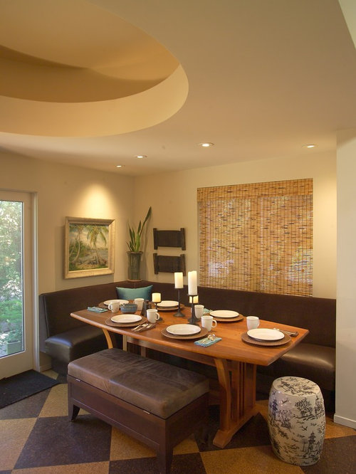 Best Corner Booth Dining Room Design Ideas & Remodel Pictures | Houzz