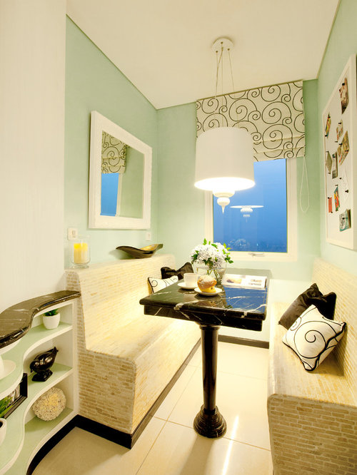 Mint Green Dining Room Design Ideas Remodels Photos