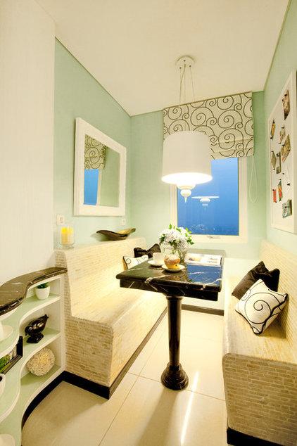Contemporary Dining Room by Iwan Sastrawiguna Interior Design