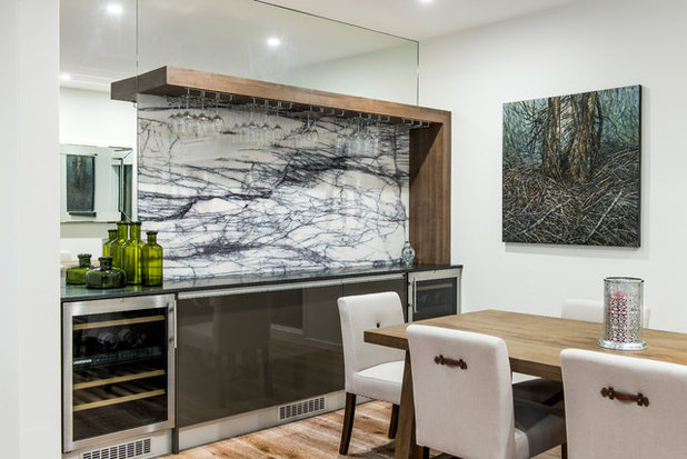 Contemporary Dining Room by Enigma Interiors
