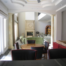 Contemporary Dining Room by Jerry Jacobs Design, Inc.