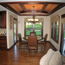 Traditional Dining Room by Barber Builders