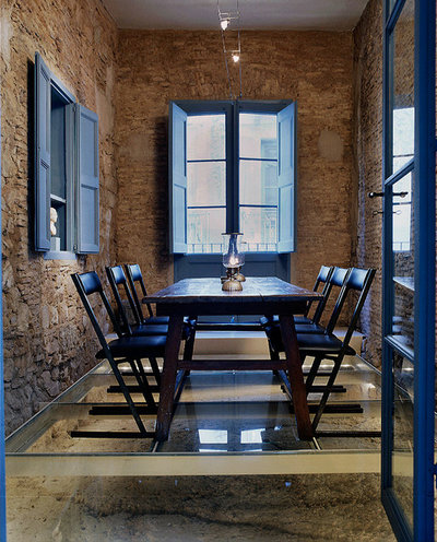 Farmhouse Dining Room by Wortmann Architects