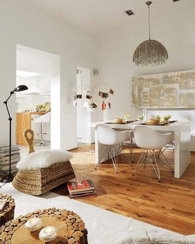 Eclettico Sala da Pranzo by Vuong Interior Design