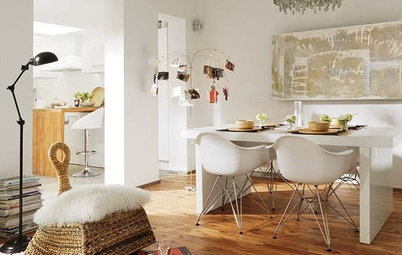 Houzz Tour: Eclectic Home in Spain Lets the Light In