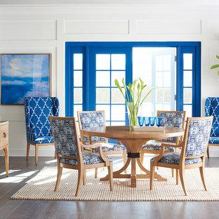 Dining room - coastal dining room idea in Los Angeles