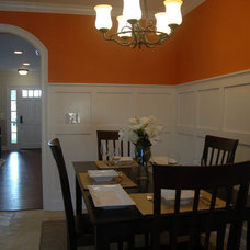 Traditional Dining Room by CCForteza