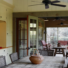 Rustic Dining Room by Historical Concepts