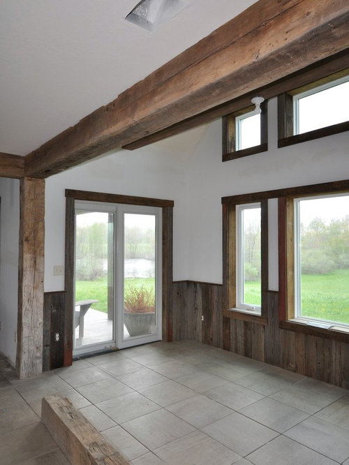 Barn Wood Wainscot Home Design Ideas, Pictures, Remodel ...