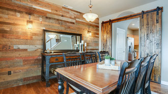 Barn Wood Wall & Sliding Barn Wood Doors